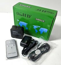 ViewHD SPDIF Toslink Digital Optical Audio Converter Audio Switcher Remote New