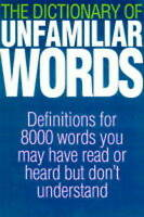 (Good)-ILLUS DICTIONARY UNFAMILIAR WORDS (Paperback)-The Diagram Group-186105322