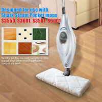 6X 4X 2X Replacement Microfiber Pads For Shark Steam Mop S3550 S3901 S3601 S3501