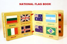 Puzzles Toys Games Jigsaw Wooden Book Flags Early Learning Centre Knowledge