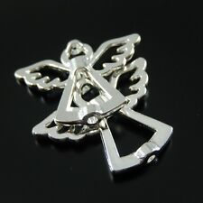 38209 Silver Tone Alloy Angel Charm Bead Jewelry Finding Hot Sale 35pcs