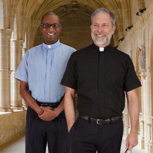 Clergy Shirt Toomey Summer Comfort Short Sleeve