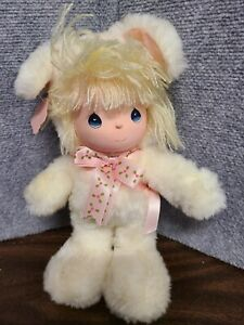 """Vintage Precious Moments Plush Doll Honey Bunny Applause 1988 Easter Edition 11"""""""