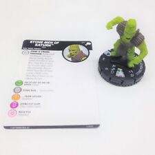 Heroclix The Mighty Thor set Stone Men of Saturn #011 Common figure w/card!