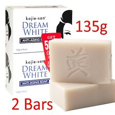 2Pcs 135g KOJIE SAN Whitening Soap and Clean Skin for ACNE, AGE SPOTS, FRECKLES