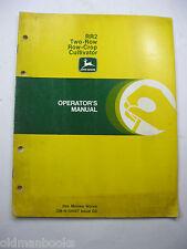 John Deere Rr2 Two Row Crop Cultivator Om-N159527 G9 Operators Manual