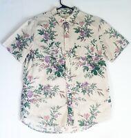Ralph Lauren Men's S S Denim & Supply Fair isle Button Front Shirt Large