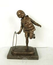 "SIGNED D.H.Chiparus bronze statue, ""HOOP SCHUPING """
