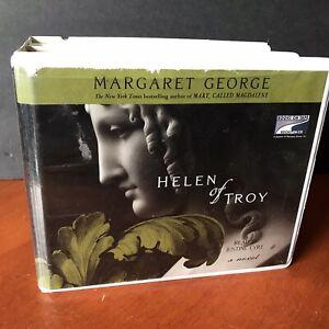Helen of Troy Margaret George Audio Book CD Set 2006 Unabridged Trojan War