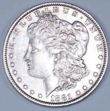 More details for 1881 o silver morgan one dollar silver coin