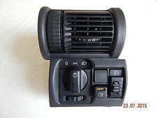 Original Opel Tigra Corsa B Combo Lichtschalter Schalter Lüftungsgitter 90386874