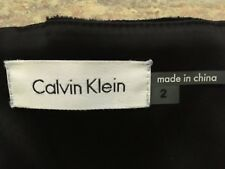 Beautiful Calvin Klein satin halter dress size US2