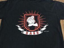 DARE Resist Drugs & Violence Lion Mascot Small Black T Shirt