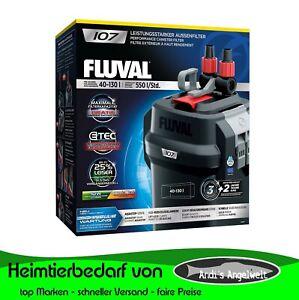 Fluval 107 207 307 407 Außenfilter Aquarienfilter neue Generation Leistungsstark