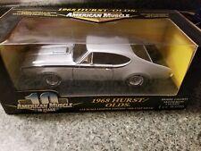 1968 HURST Oldsmobile SILVER 1:18 Ertl American Muscle #32547