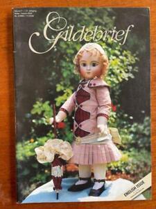 GILDEBRIEF MAGAZINE ANTIQUE DOLL DRESS PATTERNS VOLUME 21 AUTUMN 2004