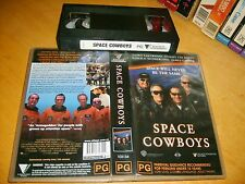 Vhs *SPACE COWBOYS* 2000 Australian Roadshow - Classic Eastwood Cult Thriller!
