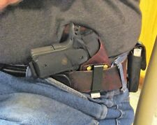 Right Hand Crossdraw IWB Concealment Holster for 1911 Compacts with 3.5 In. Barr