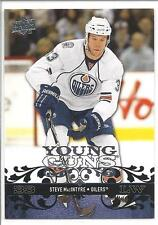 STEVE MACINTYRE 2008-09 Upper Deck YOUNG GUNS Rookie Card RC #468