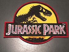 JURASSIC PARK (1993) VINTAGE ORIGINAL CREW PATCH + COA!