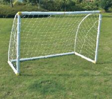 "Sturdy Soccer Football Goal, PVC Frame, Item SS-02, W69"" x H46"" x D33"" w/Net"