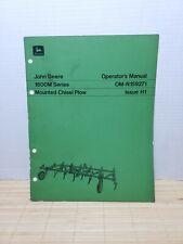 John Deere 1600m Series Mounted Chisel Plow Operators Manual Om N159271