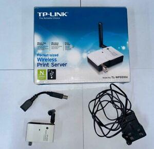 TP-Link TL-WPS510U Pocket Sized Wireless N Print Server USB 2.0