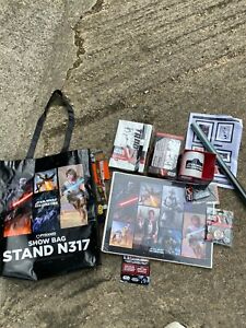Star Wars Celebration Europe Limited Edition Promotional Set London 2016 Mug Etc