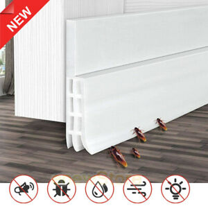 Door Draft Stopper Under Blocker Insulator Sweep Weather Stripping Noise Stopper