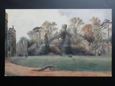 Warwick Castle Ethelfleda's Mount - Art by W W Quatremain Pub By J Salmon 1046