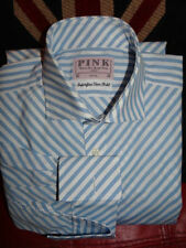Cotton Double Cuff Formal Shirts Thomas Pink Regular for Men