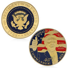 Donald Trump Challenge Coin Commemorative  45th President The United States Gift