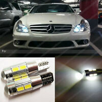 W5W T10 10SMD LED Canbus 501 hid xenon White Bulb Sidelight Error Free
