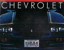 Chevrolet 1983 USA Market Brochure Chevette Cavalier Camaro Caprice Corvette