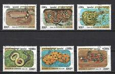 Cambodge 1999 Serpents (133) Yvert n° 1683 à 1688 oblitéré used