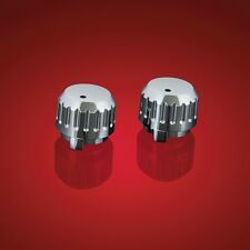 SHOW CHROME 2-526 CHROME CB CONTROL KNOBS GL1500 GOLDWING 1988-2000