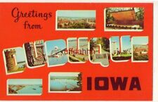 GREETINGS FROM DUBUQUE, the oldest city in IOWA various views