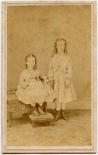 YOUNG SISTERS PORTRAIT VINTAGE CDV