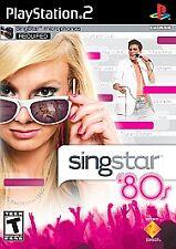 SingStar '80s (Sony PlayStation 2, 2007)