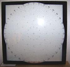 "Orion P-3 Aircraft Navagation Control Panel part 360 Glass Bezel NOS 10.5""x10.5"""