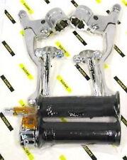 Kit poignée métal  Targa chromée Avec butée de réglage