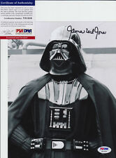 JAMES EARL JONES STAR WARS DARTH VADER SIGNED 8X10 PHOTO PSA/DNA COA #11