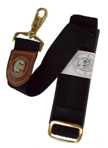 Sherpa Pet Trading Co Luggage Strap ~ Black with Clip Latches, NEW