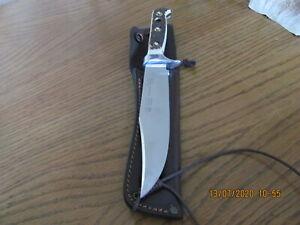 Puma Original Bowie Jagdmesser 116396 mit Lederscheide