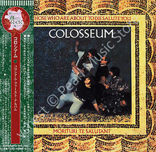COLOSSEUM THOSE WHO ARE ABOUT TO DIE SALUTE YOU CD MINI LP OBI Jon Hiseman new