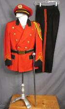 Vintage 1940s Hempfield H.S. Marching Band Leaders Uniform Majors Cap/Baton Pa.