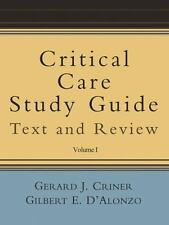 Critical Care Study Guide: Text and Review  Paperback