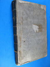 SIR WALTER RALEIGH WILLIAM OLDYS HISTORY OF WORLD ANTIQUE BOOK PUB. WALTHOE 1736