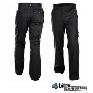 Arbeitshose Dassy Liverpool Workwear Bundhose Berufsbekleidung schwarz