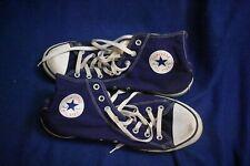 Converse 10.5 DARK BLUE All Star Chuck Taylor High Hi Top Sneakers Shoes USA